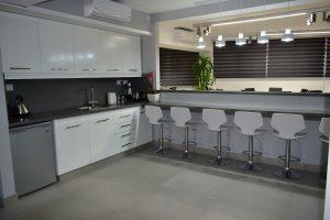 first floor kitchen area