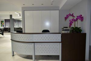 first floor reception