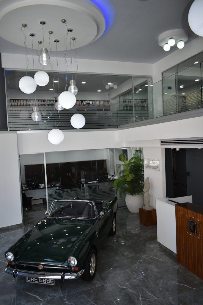 main reception area ground floor